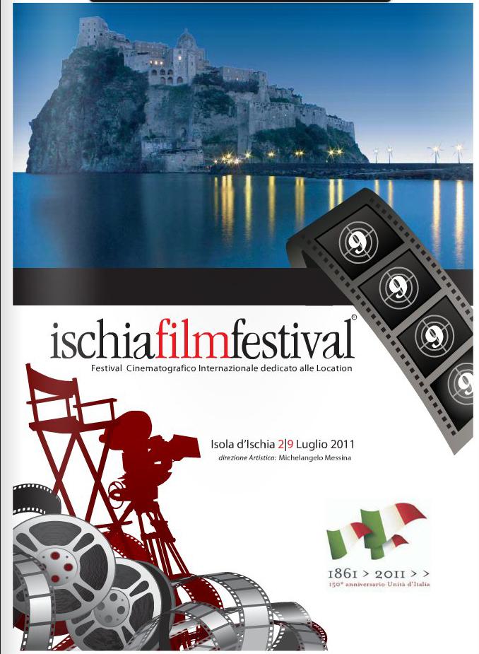 """Copertina del """" Ischia Film Festival"""" per la campagna di comunicazione"""