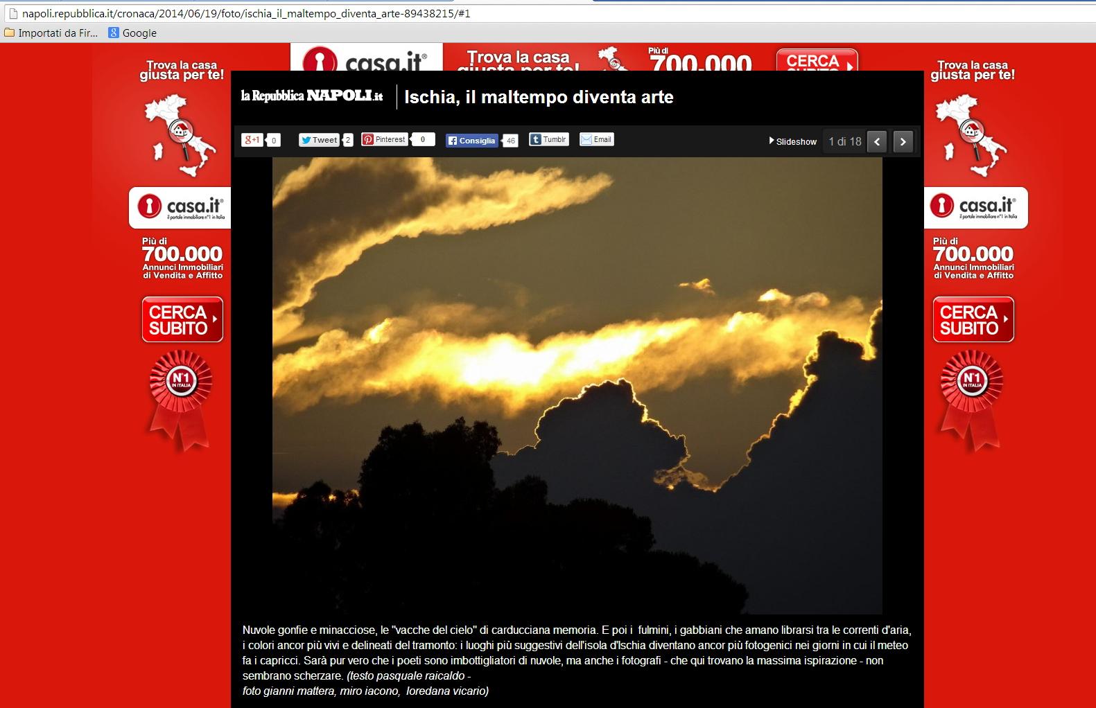 L'articolo su Repubblica.it